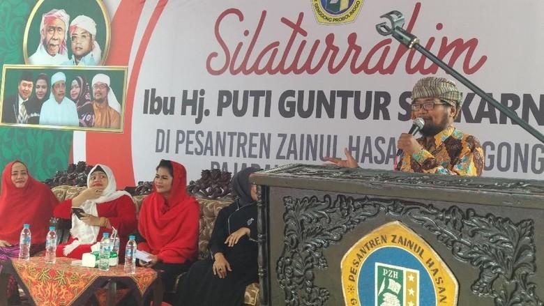Sambangi Ponpes Probolinggo, Puti Janji Tingkatkan Mutu Pendidikan