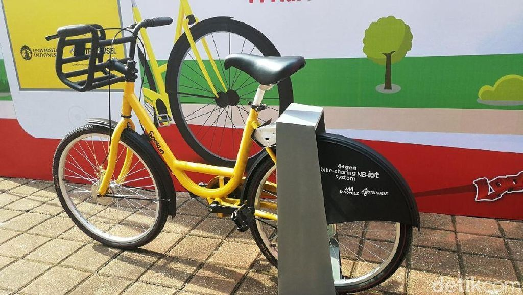 Mengenal Teknologi NB-IoT di Sepeda Kuning Kampus UI