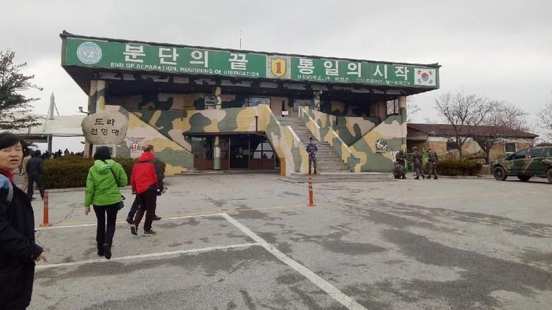 Foto: Demilitarized Zone (DMZ), perbatasan Korea Selatan dan Korea Utara (Amalia Dwi Septi/detikTravel)