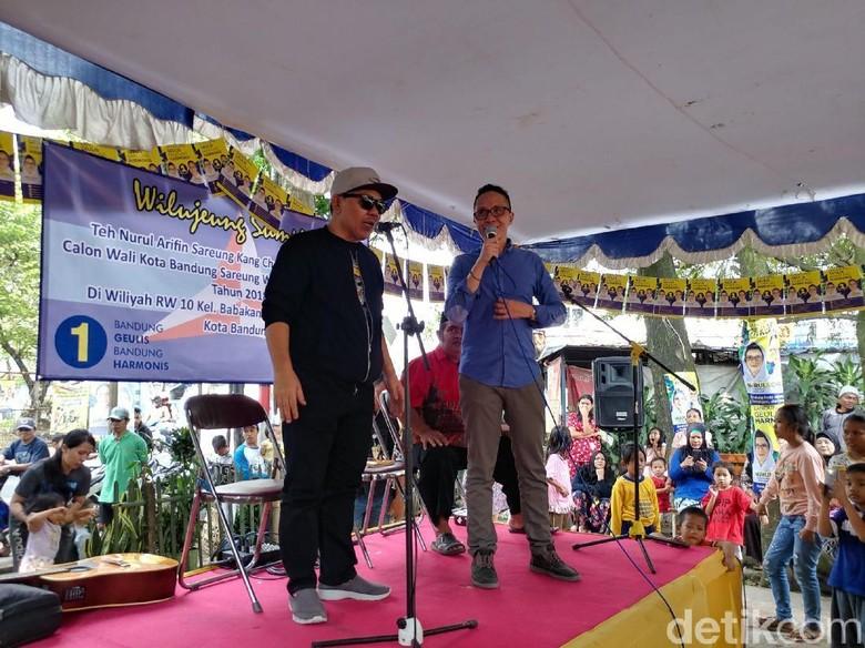 Doel Sumbang Siap Jadi Jurkam Pasangan Nurul Arifin-Ruli