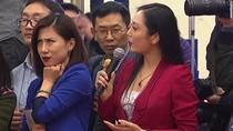 Viral, Gerakan Bola Mata Jurnalis China Saat Konferensi Pers