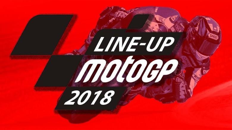 Line-up MotoGP 2018