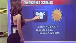 Beberapa media internasional dan warganet menyebut Yanet sebagai sosok pembawa laporan cuaca terseksi sedunia. Ini karena Yanet rutin olahraga.