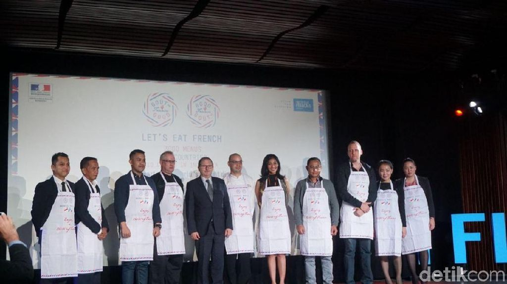 Good France 2018 Tampilkan Kuliner Prancis di 39 Restoran Indonesia