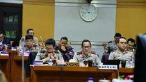 Raker di DPR, Kapolri Paparkan Kendala Pilgub Papua