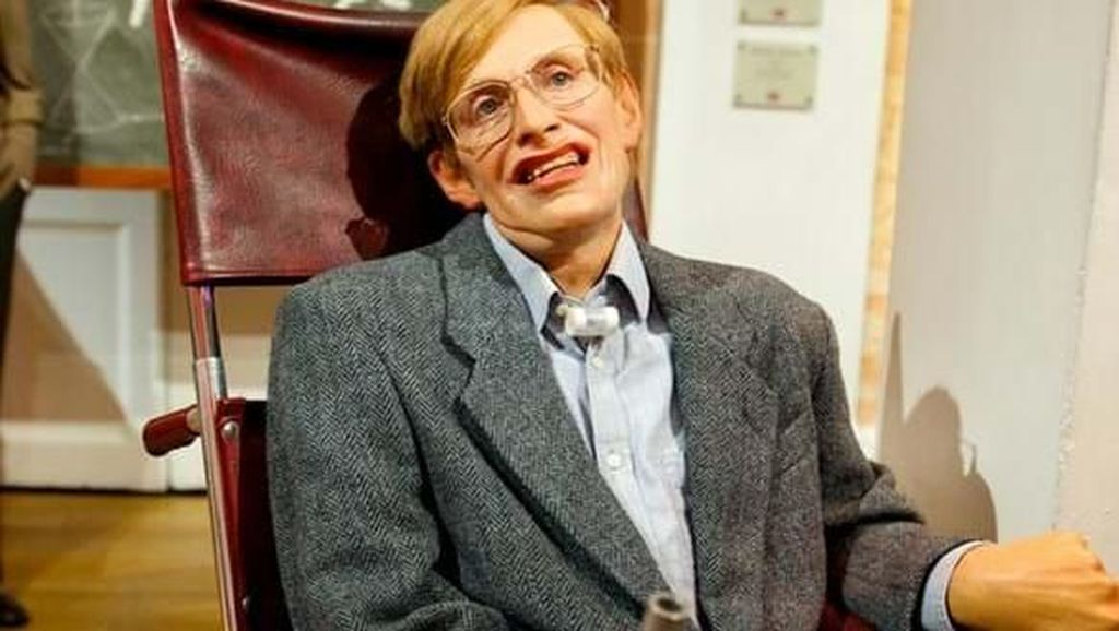 Mengenang Stephen Hawking di Madame Tussauds London
