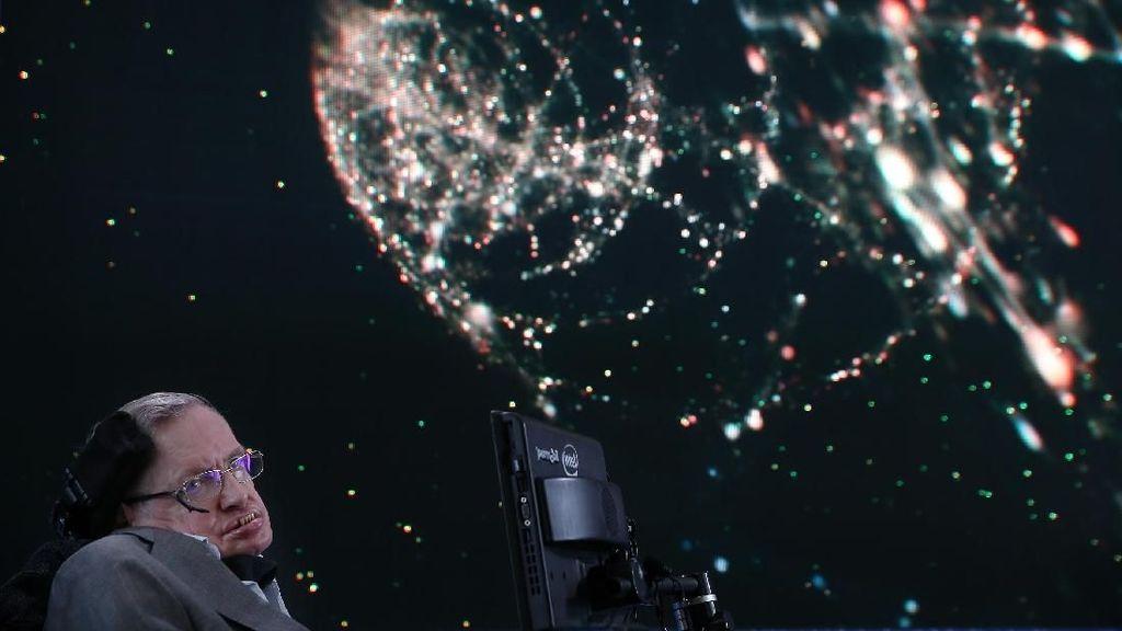Terkesima Ucapan Stephen Hawking Jelang Meninggal Dunia