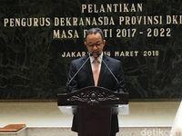 Pelantikan pengurus Dekranasda Provinsi DKI Jakarta periode 2017-2022