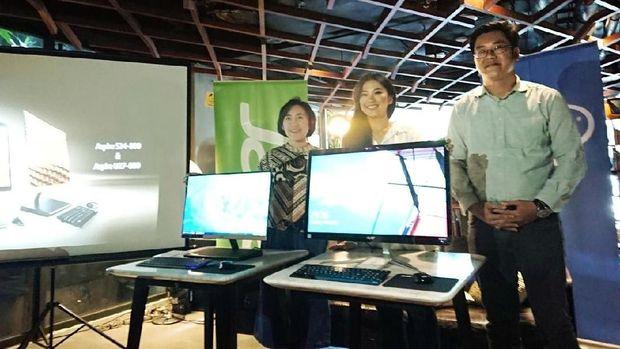PC Desktop AIO Tertipis Acer Tiba di Indonesia, Harganya?