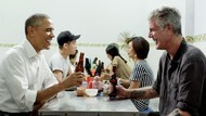 Meja Tempat Obama dan Bourdain Makan di Hanoi Kini Diabadikan