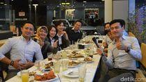 Menang DiTraktir Detikcom, Wiratmoko Ajak 20 Teman Makan Bareng