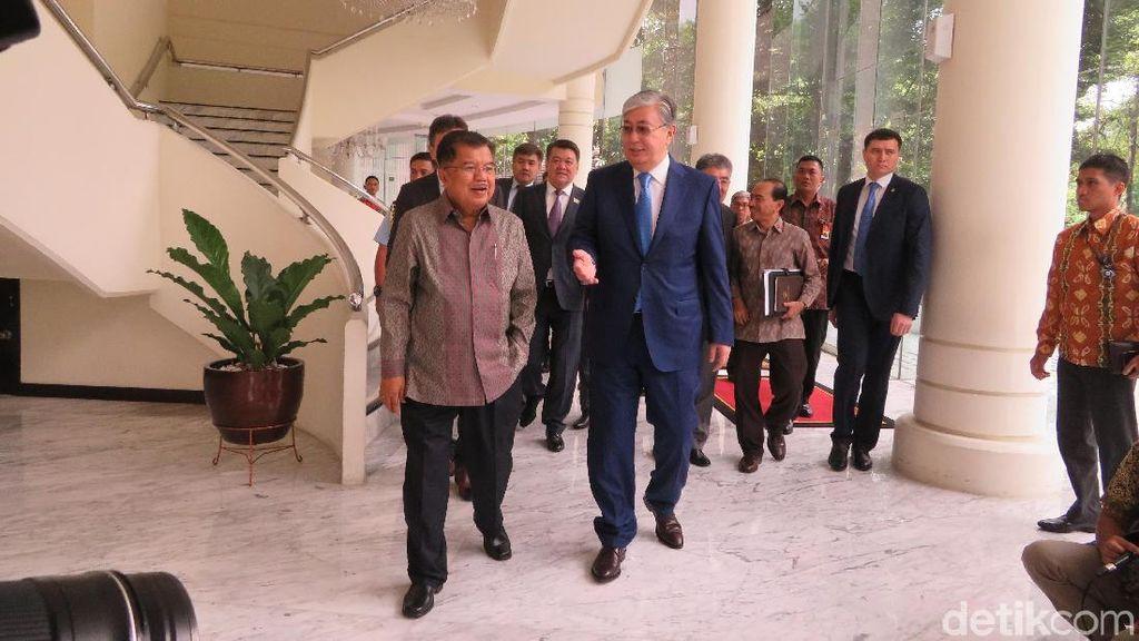 Temui JK, Parlemen Kazakhstan Undang RI ke Pertemuan Agama Sedunia