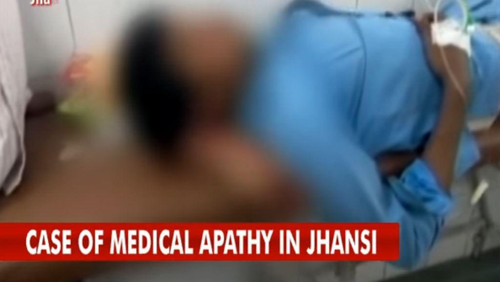 Dokter India Dipecat Karena Biarkan Potongan Kaki Jadi Bantal Pasien