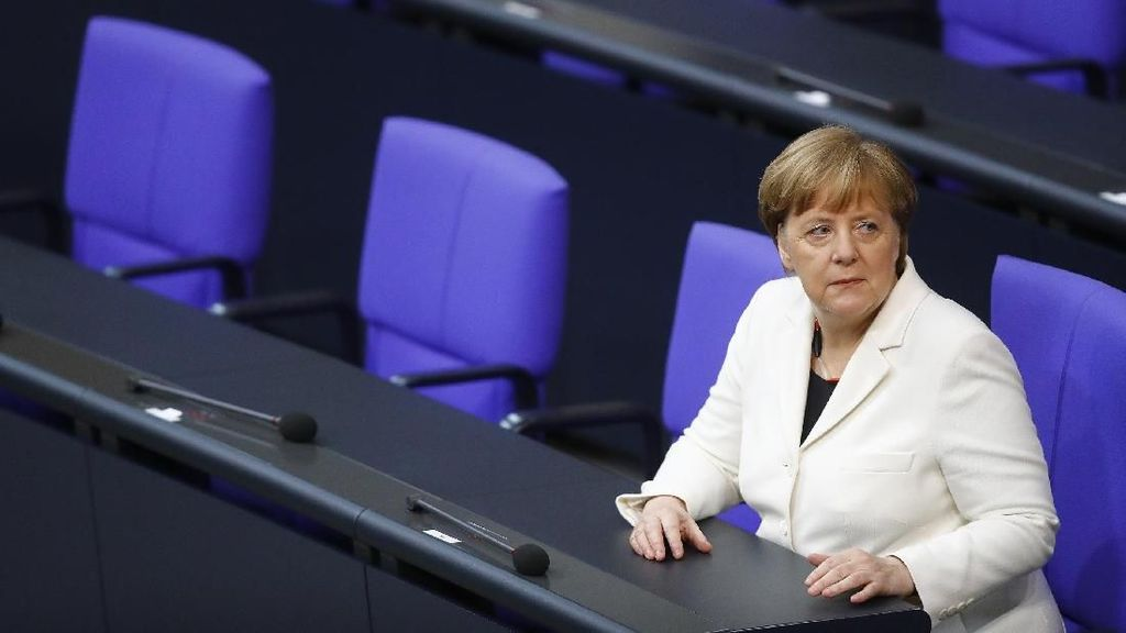 Momen Angela Merkel Kembali Terpilih Sebagai Kanselir Jerman