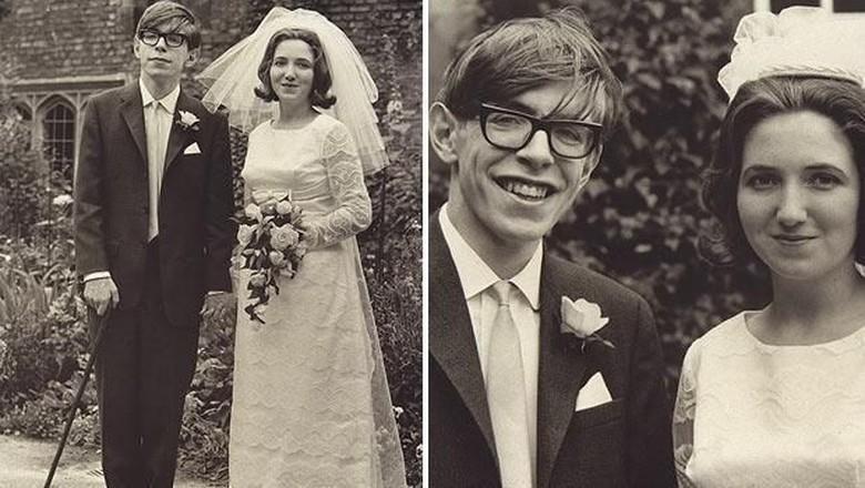Potret Kisah Cinta Rumit Stephen Hawking