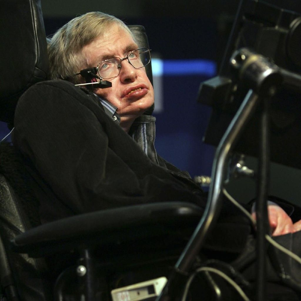 Stephen Hawking Meninggal, Lagu MC Hawking di YouTube Laris Lagi