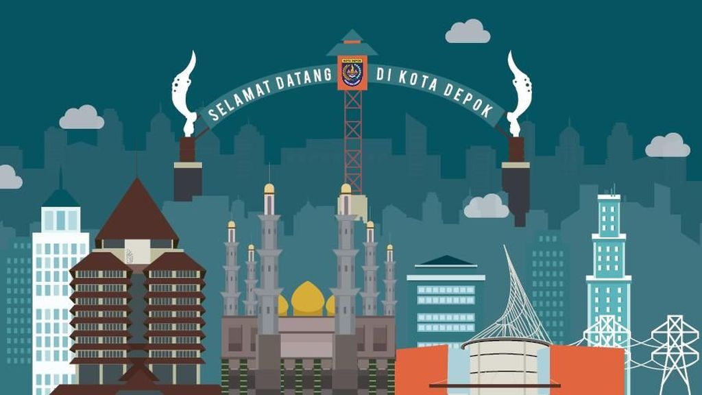 Depok, Gagal Jadi Penyangga Jakarta
