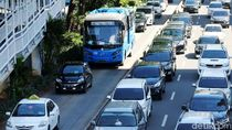 Foto: Kini Jalur TransJakarta Tak Steril Lagi