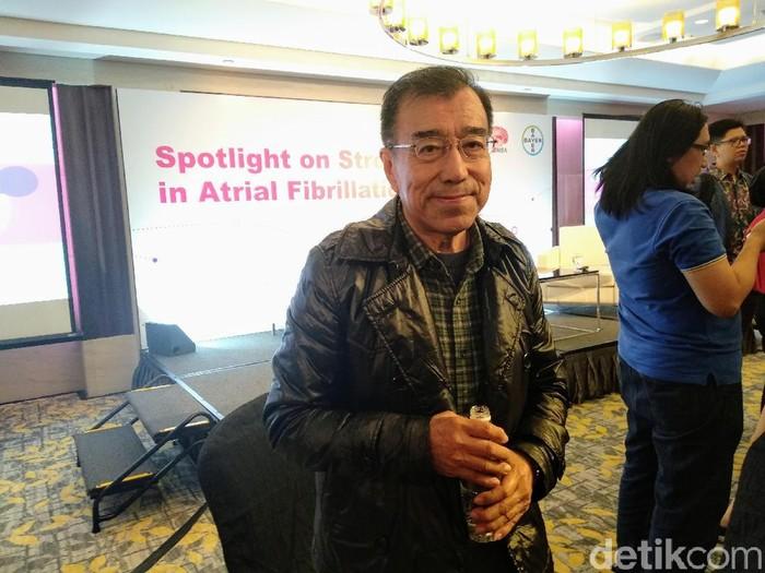 Anthony Quek, pasien stroke di Singapura. Foto: Widiya Wiyanti/detikHealth