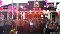 Polresta Sukabumi Ajak Warga Deklarasikan Anti Hoax