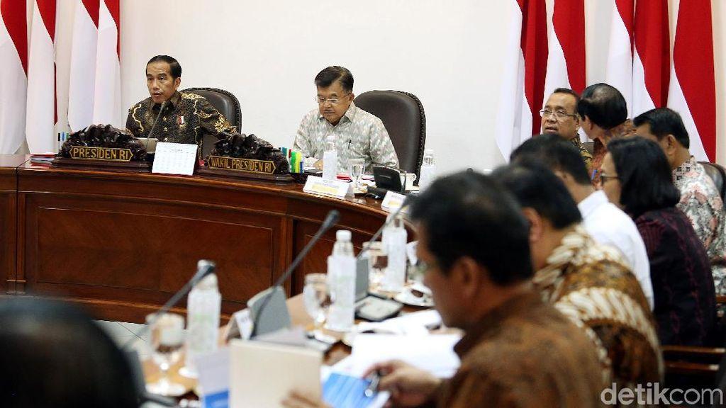 Jokowi Pimpin Ratas Peningkatan SDM Indonesia