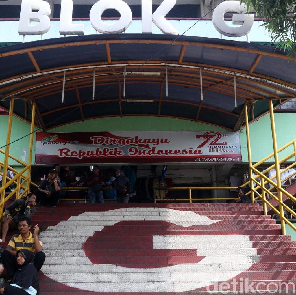 Sandiaga akan Atur Jalur TransJ Agar Blok G Tn Abang Ramai