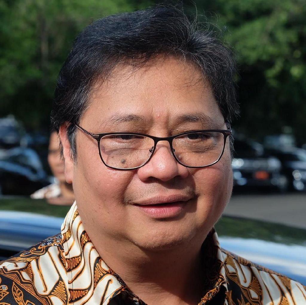 Rakernas Golkar Kemungkinan Bahas Potensi Duet Jokowi-Airlangga