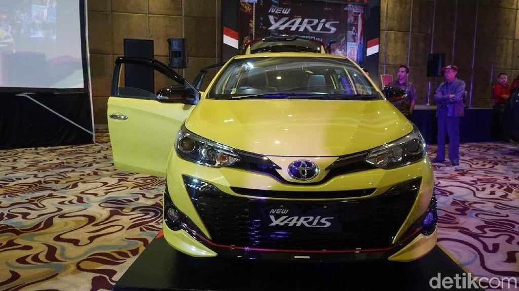 Toyota Yaris Mulai Jalan-jalan di Kota Kembang