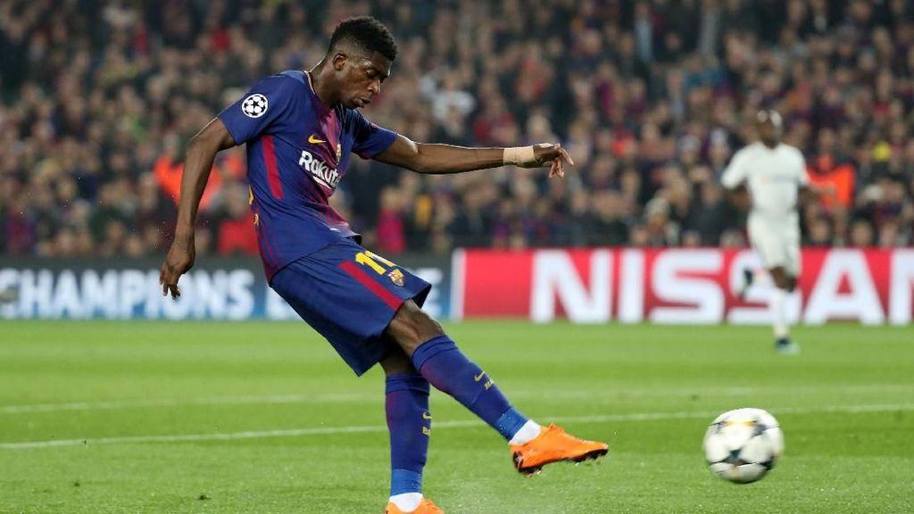 Dembele Bersinar di Malam Milik Messi