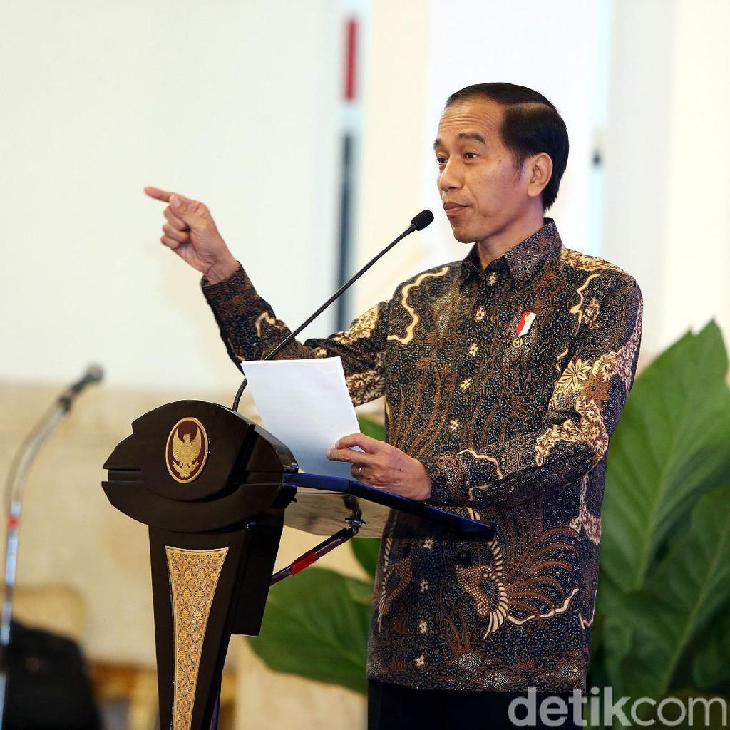 Diusung Perindo Jadi Capres 2019, Jokowi Ucapkan Terima Kasih