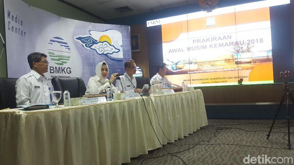BMKG: Palembang Lebih Panas dari Jakarta Saat Asian Games