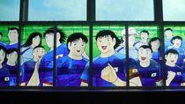 99 Karakter Captain Tsubasa Ada di Stasiun Kereta Api Jepang