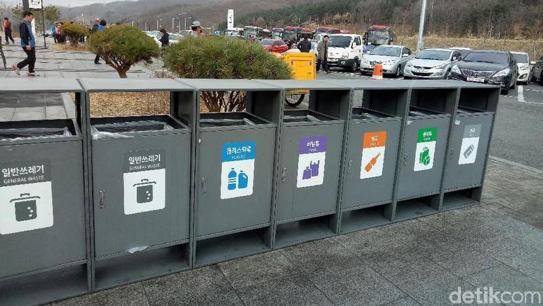 Tong sampah 7 jenis di Korea Selatan (Amalia Dwi Septi/detikTravel)
