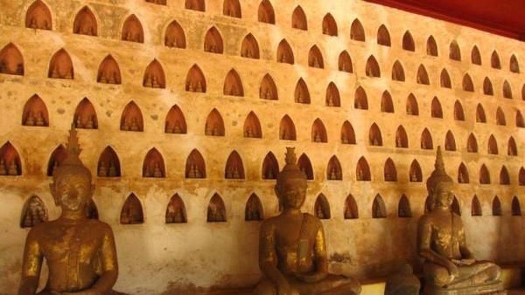 Bukan Thailand, Ribuan Patung Buddha Mungil Ada di Sini