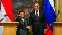 Retno dan Menlu Rusia Bahas Isu Palestina hingga Kerja Sama Dagang