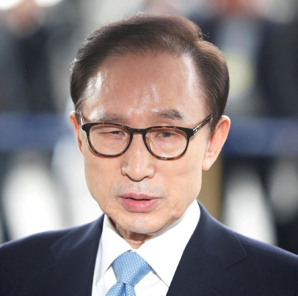 Eks Presiden Korsel Lee Myung-bak Ditangkap Atas Kasus Korupsi