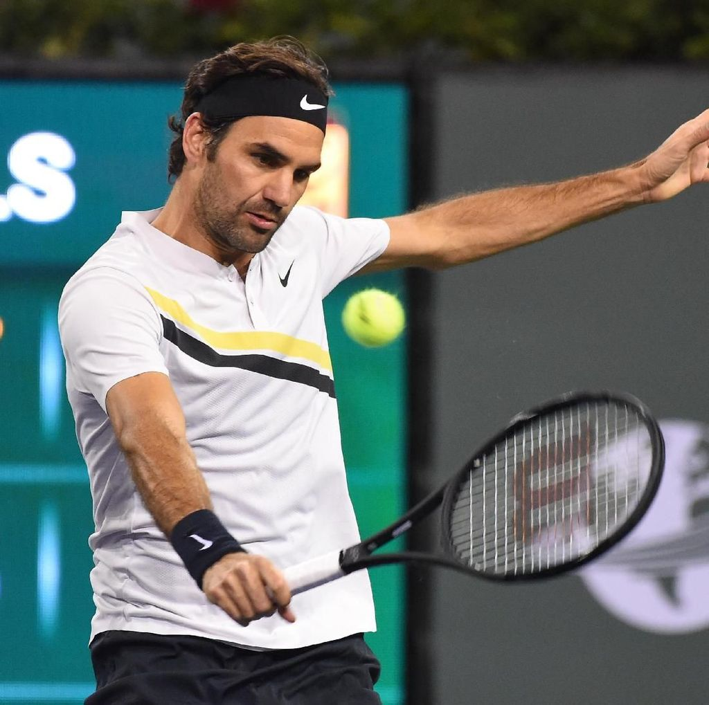 Menang Straight Set Lagi, Federer ke Semifinal