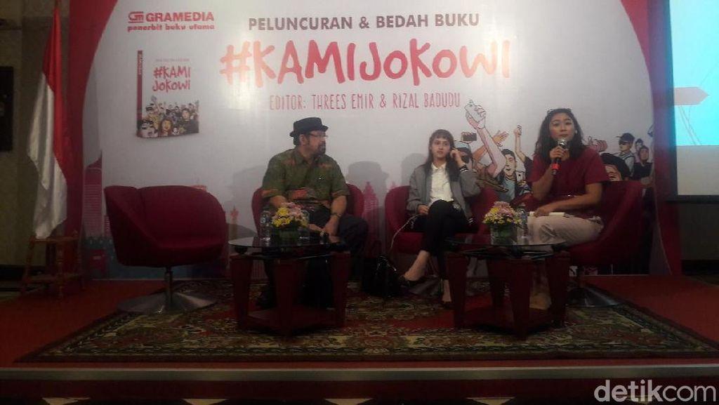 Bedah Buku #KamiJokowi, Tsamara: Ini Membantah Fitnah ke Jokowi