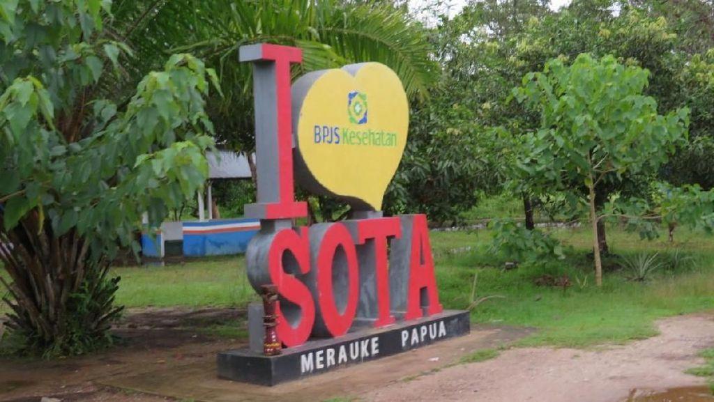 Melihat Lokasi PLBN Megah Kedua di Papua yang Mau Dibangun Jokowi