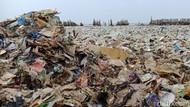Potret Lautan Sampah di Teluk Jakarta