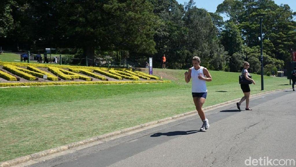 Foto: Tempat Jokowi Olahraga Pagi di Sydney