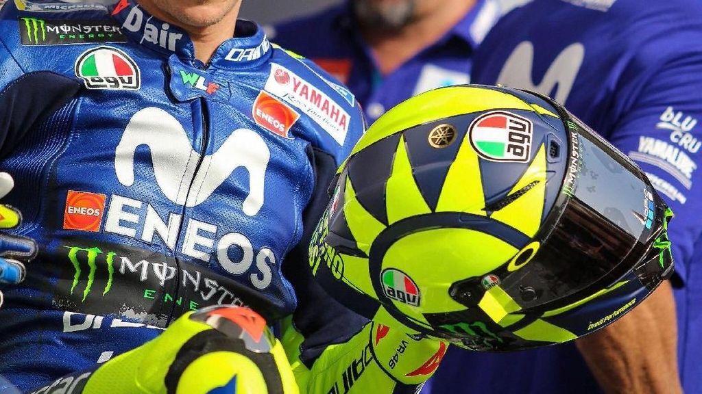 Desain Baru Helm Rossi Disebut Bakal Jadi Acuan Jam Dunia