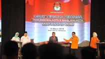 2 Paslon Pilwalkot Makassar Saling Puji di Debat Perdana
