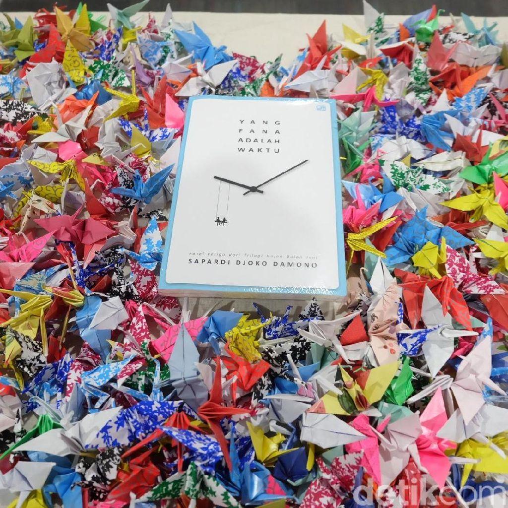 Sapardi Djoko Damono Isyaratkan Ada Kelanjutan Novel Hujan Bulan Juni