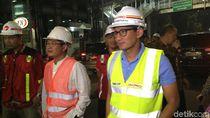 Cek Underpass Mampang, Sandiaga Fokus Penanganan Pipa Gas dan Air