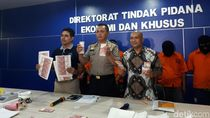 Bareskrim Tangkap Sindikat Pengedar Uang Palsu Jakarta-Bogor