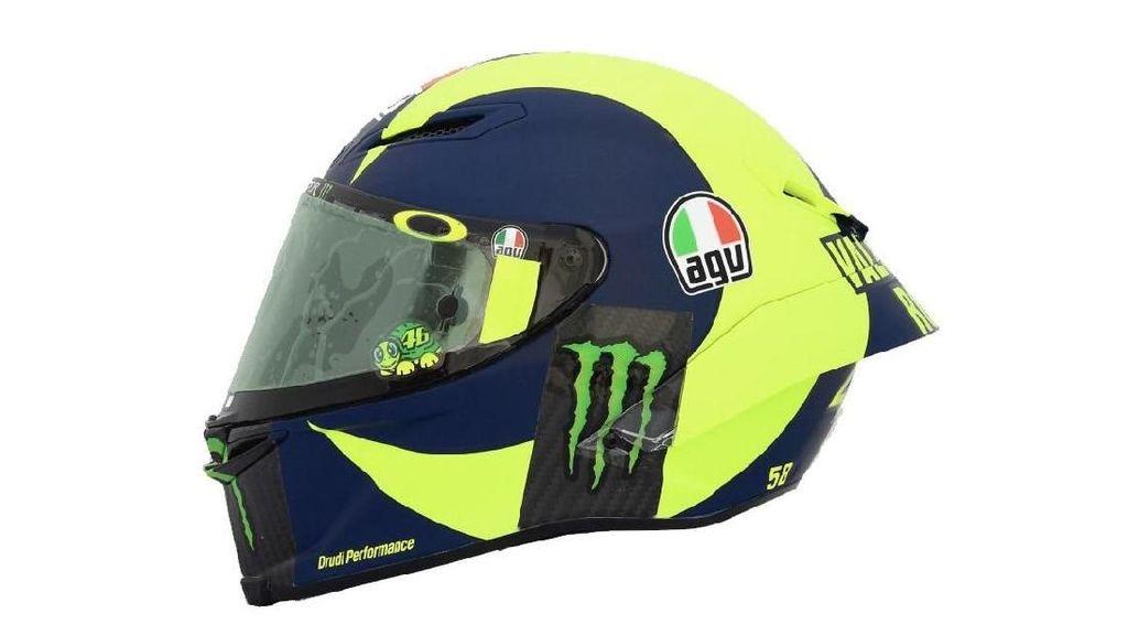 Inilah Helm Baru Rossi di MotoGP 2018