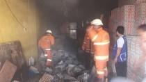 Ruko di Rawamangun Terbakar Diduga Akibat Korsleting Listrik