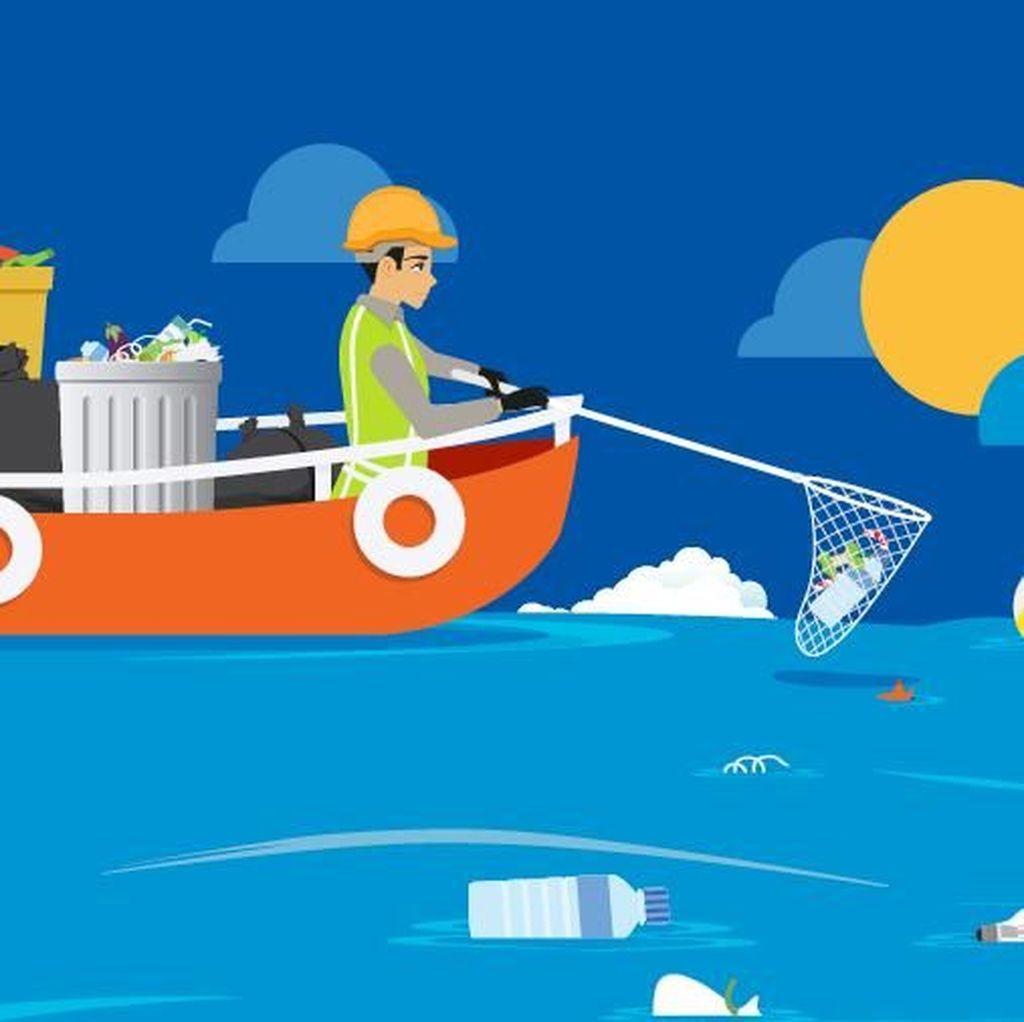 Memalukan! Indonesia Juara Dua Buang Sampah Plastik ke Laut