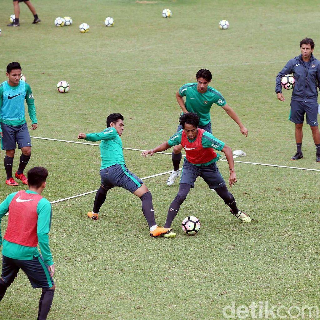 Jelang Lawan Singapura, Pemain Timnas U-23 Indonesia Jalani Pemusatan Latihan